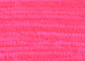 Bild på Standard Chenille Large (6mm) Fluo Red