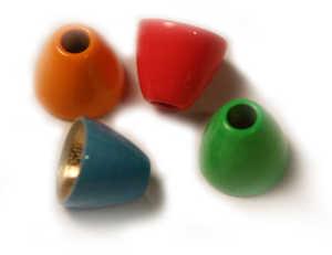 Bild på Coneheads (färgade) Fluo Green (Small)