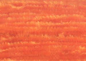 Bild på Chenille Ultra Fine (2mm) Orange