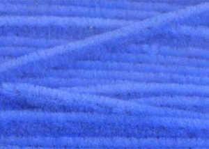 Bild på Standard Chenille Medium (4mm) Fluo Blue