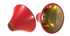 Bild på Pro ConeDisc (Red) Small (10st/förp)