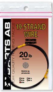 Bild på Wire 19-Strand  (10 meter) 20lbs