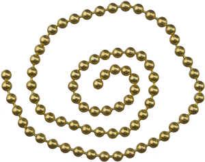 Bild på Kulkätting Guld Small (2,4mm)