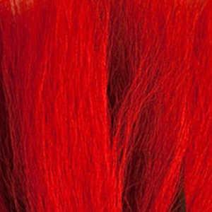 Bild på Hjortsvans/Bucktail i bitar Red