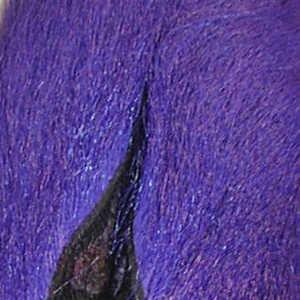 Bild på Hjortsvans/Bucktail i bitar Purple