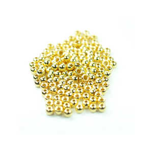 Bild på Tungstensskallar Guld (10-pack) 3,2mm