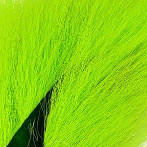 Bild på Hjortsvans/Bucktail i bitar Fluo Chartreuse