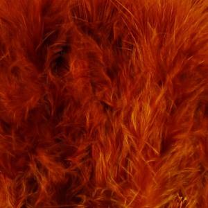 Bild på Marabou Fjäder (Plumes) Fiery Brown