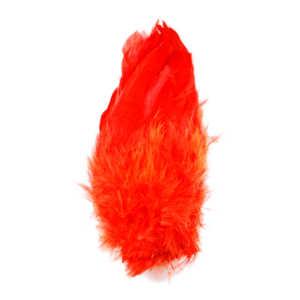 Bild på Schlappen (Lösa fjädrar från tuppnacke) Fire Orange