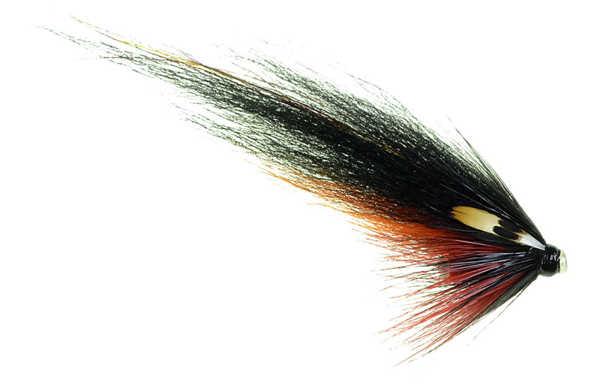 Bild på Tubfluga -Ulf Sill- Black & Orange (4cm)