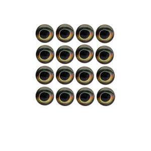 Bild på Fish Skull Living Eyes Earth 10mm (16st)