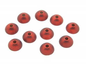 Bild på Hybrid Cone Metallic Red 8mm