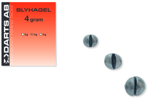Bild på Darts Splitshots/Blyhagel  5 gram (6-pack)