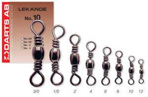 Bild på Darts Lekande (5-11 pack) #3/0 / 60kg (4 pack)