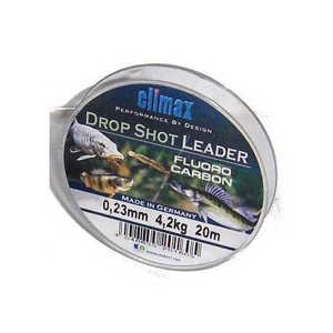 Bild på Climax Drop Shot Fluorocarbon Leader (20m) 0,25mm / 4,6kg
