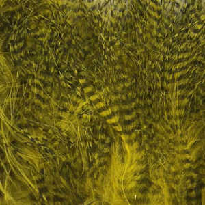 Bild på Marabou Fine Barred Feathers Olive