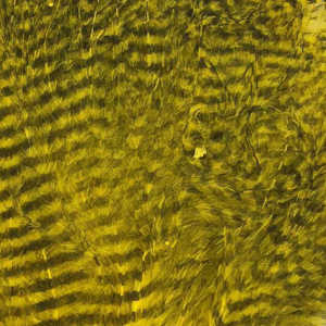 Bild på Marabou Fine Barred Feathers Yellow