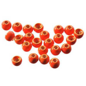 Bild på Tungstens Beads (10-pack) Fluo Red 3,8mm