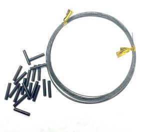 Bild på Climax Snatch Titanflex Leader (med wirelås) 3 meter (8kg)