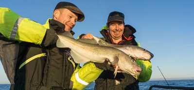 Årets första havsfisketur