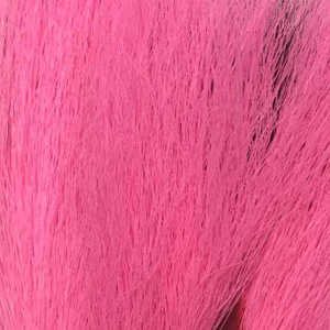 Bild på Hjortsvans/Bucktail i bitar Fluo pink