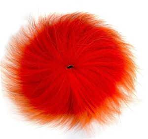 Bild på Rävsvans i bit - XL Hot Orange