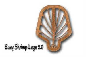 Bild på Easy Shrimp Legs 2.0 Transparent Dirty Brown