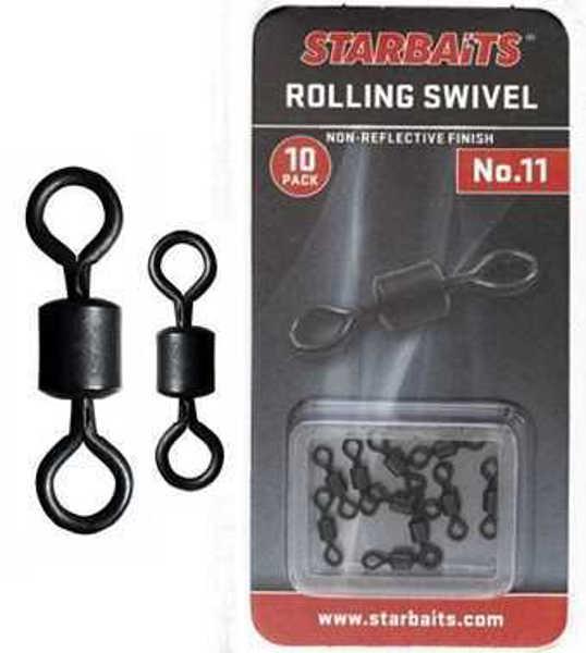 Bild på Starbaits Rolling Swivel (10 pack)