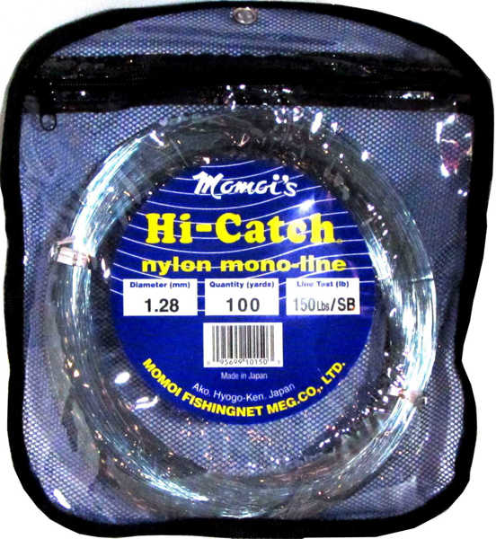 Bild på Momoi's Hi-Catch Nylon Monoline 1,28mm (100m)