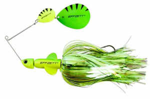 Bild på Effzett Pike Rattlin Spinnerbait 56g Fluo Yellow / Green