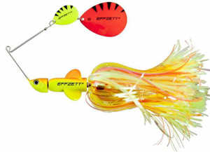 Bild på Effzett Pike Rattlin Spinnerbait 56g Fluo Yellow / Orange