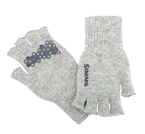 Bild på Simms Wool Half Finger Glove