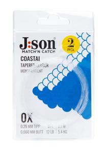 Bild på Json Coastal Seatrout Leader 12ft (2-pack) 0,23mm | 2X