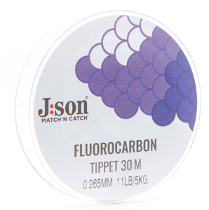Bild på Json  Fluorocarbon Tippet 30m 0,205mm