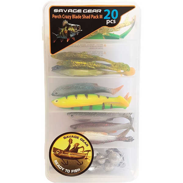 Bild på Savage Gear Perch Crazy Blade Shad Pack Medium