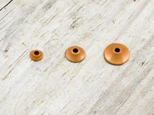 Bild på FITS Tungsten Turbo Cones (10-pack) Orange Metallic - Small