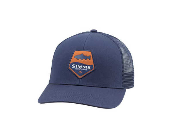 Bild på Simms Trout Patch Trucker (Admiral Blue)
