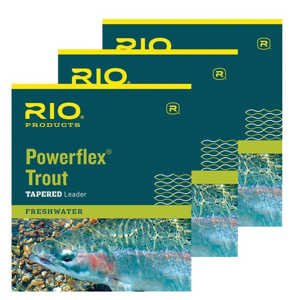 Bild på RIO Powerflex Trout - 9 fot (3 pack) 5X