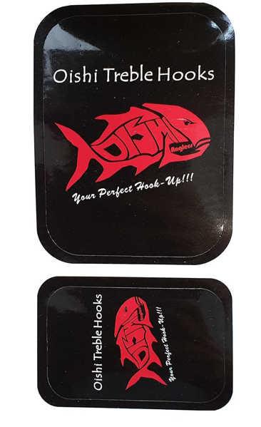 Bild på Oishi Anglers Treble Hook Sticker