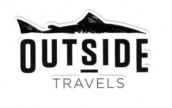 Bild på Outside Travels Sticker