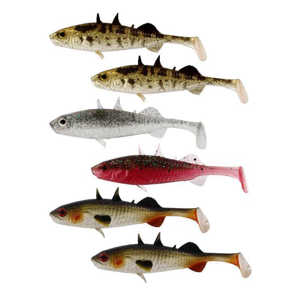 Bild på Westin Stanley The Stickleback Clear Water Mix (6 pack) 7,5cm