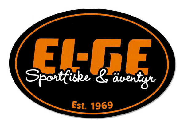 Bild på EL-GE Sportfiske Oval Sticker