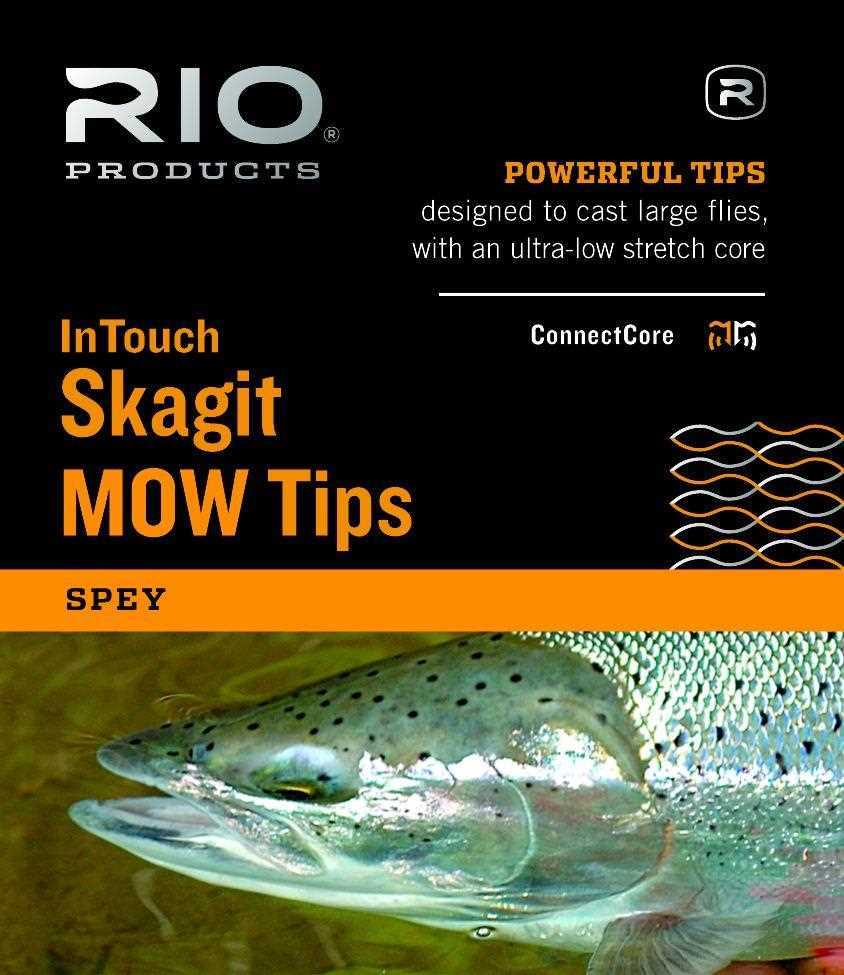 Sinking /& Floating 675 Grains and Heavier 10ft Float Extra Heavy for sale online Rio InTouch Skagit Mow Tips Fly Fishing Line W// Weld Loops