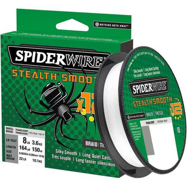 Bild på Spiderwire Stealth Smooth 12 Translucent 150m