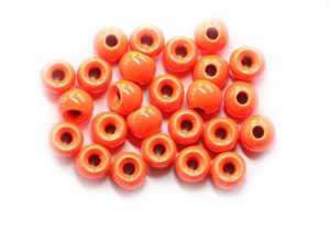 Bild på Tungstens Beads (10-pack) Fluo Orange 3,8mm