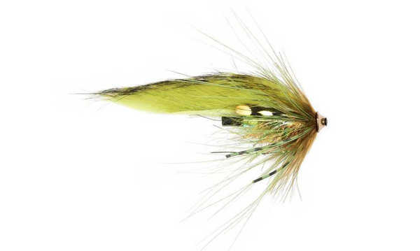 Bild på Frödin Sea Trout Spey Series (3cm) Olive Z Spey