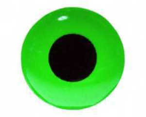 Bild på FutureFly 3D Epoxy Eyes 4mm Fluo Green