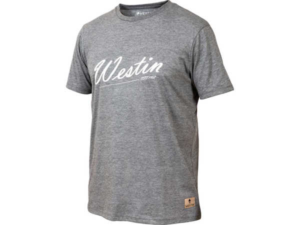 Bild på Westin Old School T-Shirt Grey Melange