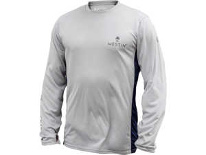 Bild på Westin Pro UPF Long Sleeve Grey/Navy Blue Small