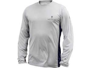 Bild på Westin Pro UPF Long Sleeve Grey/Navy Blue Large